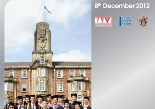 2012-12-08 – 2012年英國威爾斯(紐波特)大學MBA畢業禮暨12周年慶典