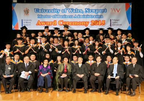 2015-05-30 – 2015年英國威爾斯(紐波特)大學MBA畢業禮相簿