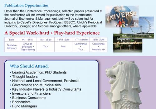 2014-11-17 International Conference on Economics, Finance & Management Sciences